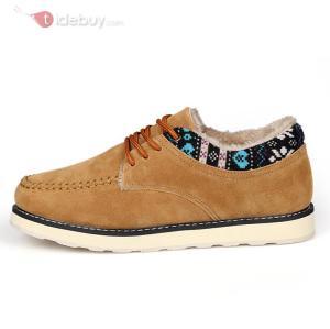 Chaussures Décontractées Hommes Lacet Suédé