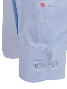 Chemise Couleur Revers Single-breasted pour Hommes