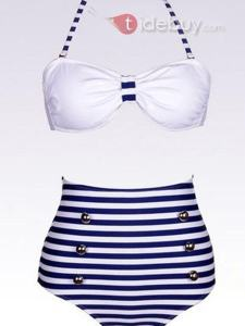 Bikini Bande Fraîche Taille Bonne Qualité